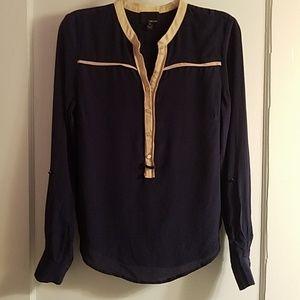 Anthropologie Greylin silk blouse